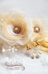 Paméla - egyedi menyasszonyi öv