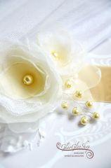 Fiorella - egyedi menyasszonyi öv