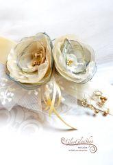 Villő - egyedi menyasszonyi öv