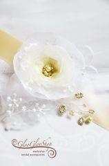 Aletta - egyedi menyasszonyi öv