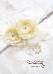 Mirka - egyedi menyasszonyi öv