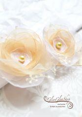 Zóra - egyedi menyasszonyi öv
