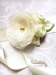 Vanda - egyedi menyasszonyi öv